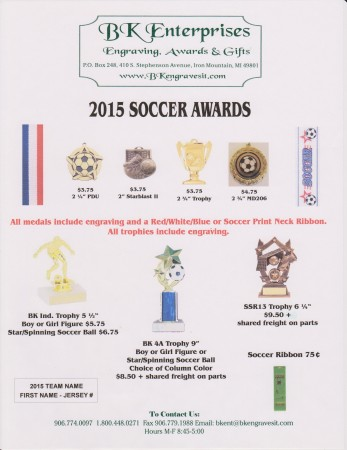 Related keywords suggestions for soccer awards for Soccer award ideas